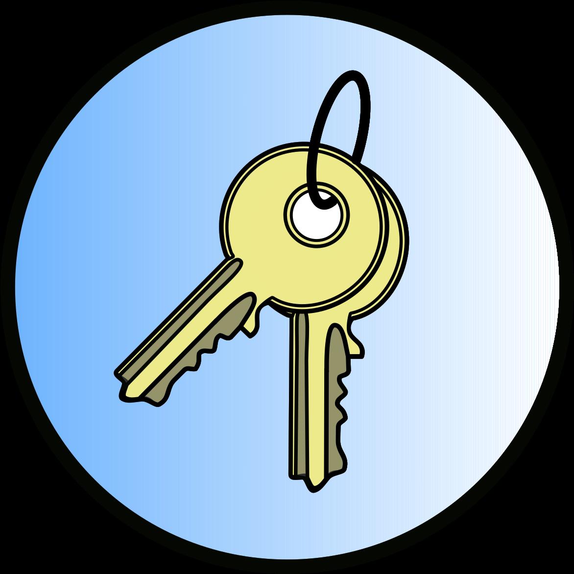 Transparent cartoon jing fm. Keys clipart two key
