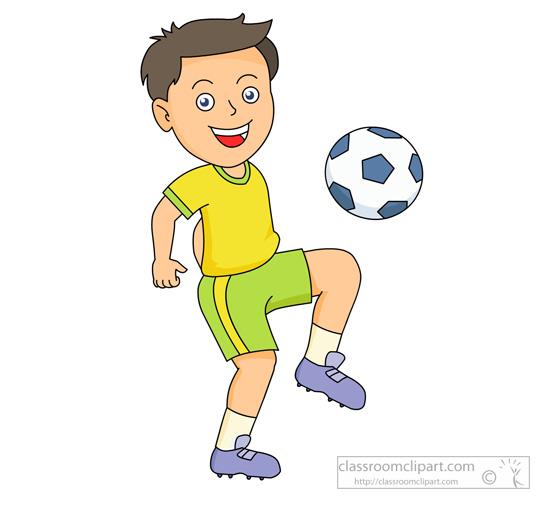 Free sports soccer clip. Kickball clipart soce