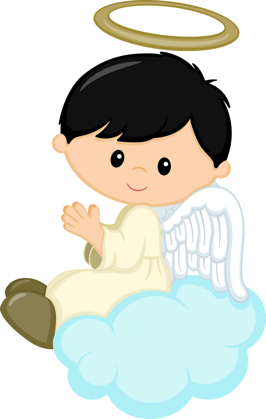 Kid clipart angel. Pin by jeny chique