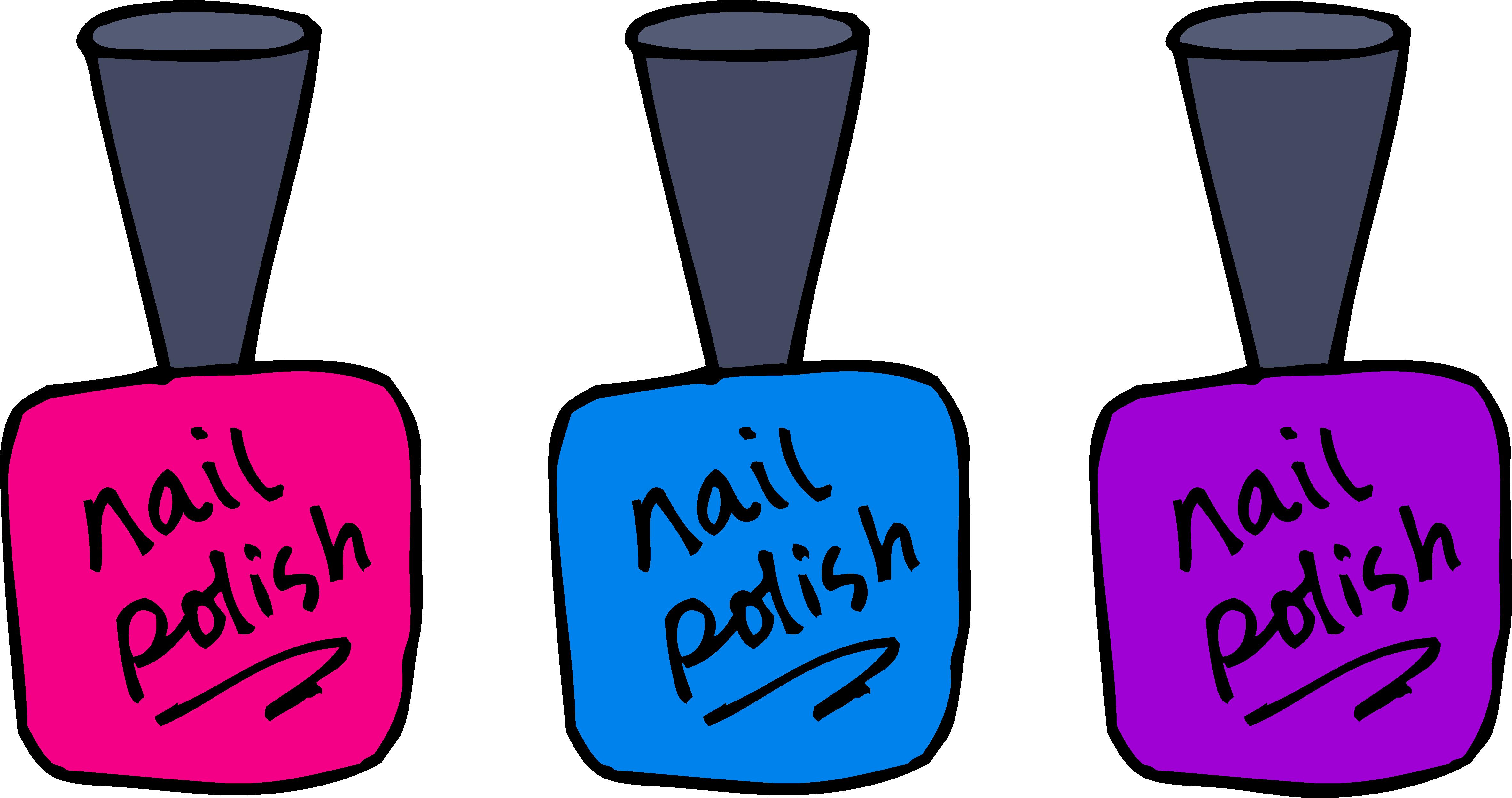 Clip art design . Nails clipart cute nail