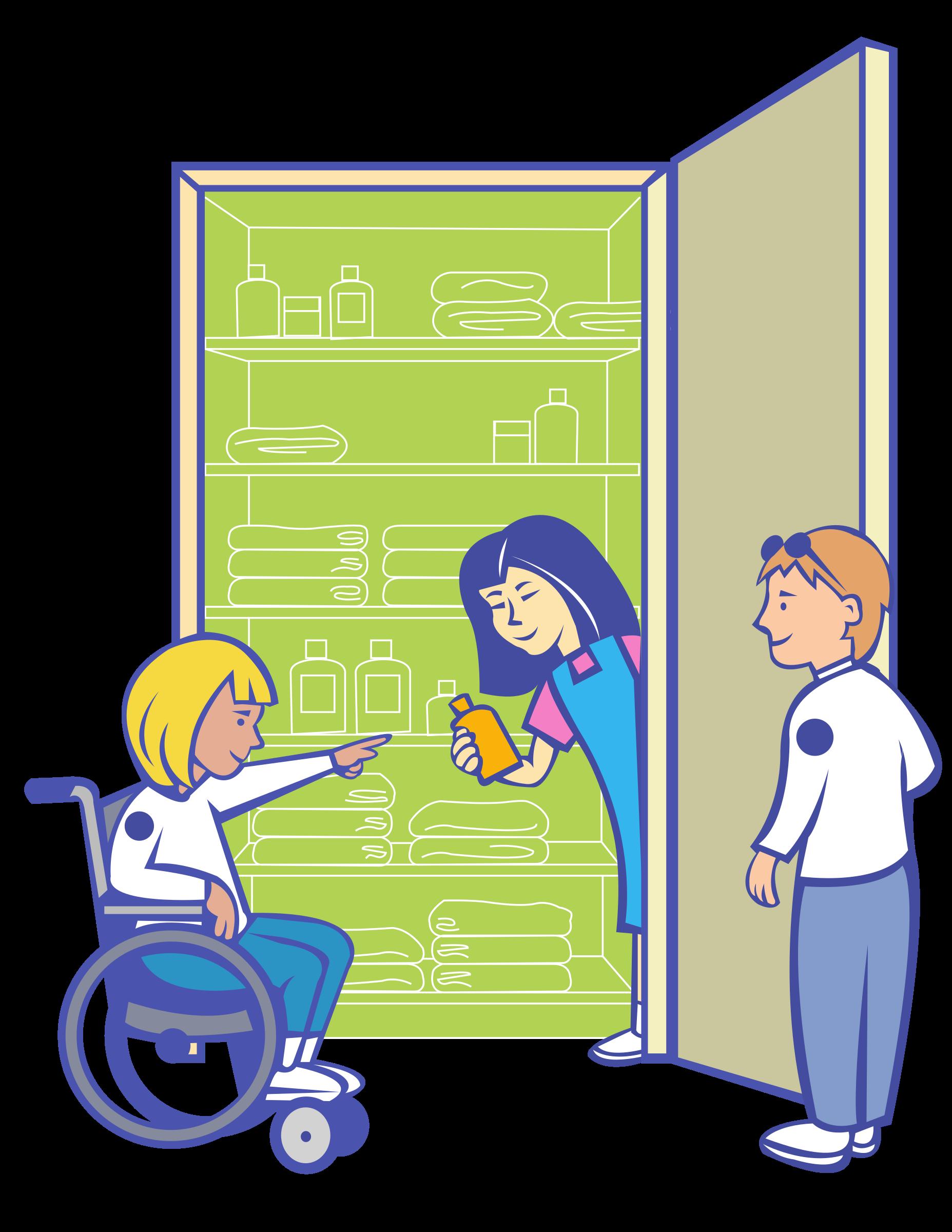 In cupboard by ryanlerch. Kids clipart nurse