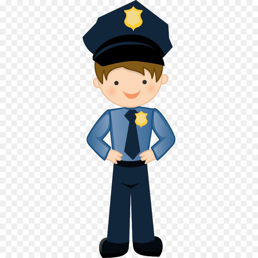 Kid clipart police officer. Cartoon child badge