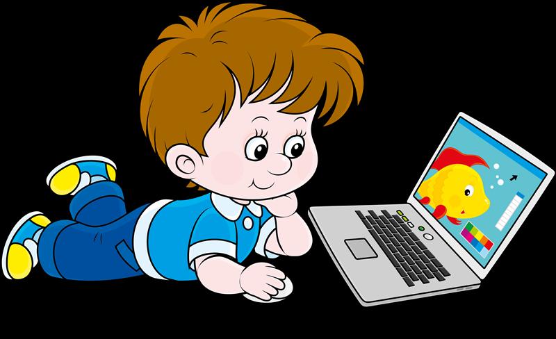 Kid clipart technology. Gifs y fondos pazenlatormenta