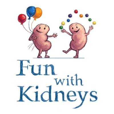 Kidney clipart fun. Aanpa with kidneys