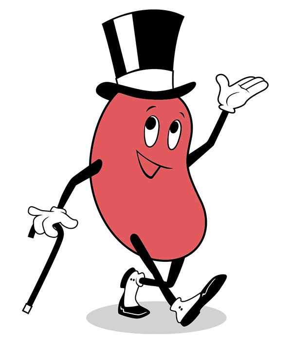 T shirt design on. Kidney clipart thank you