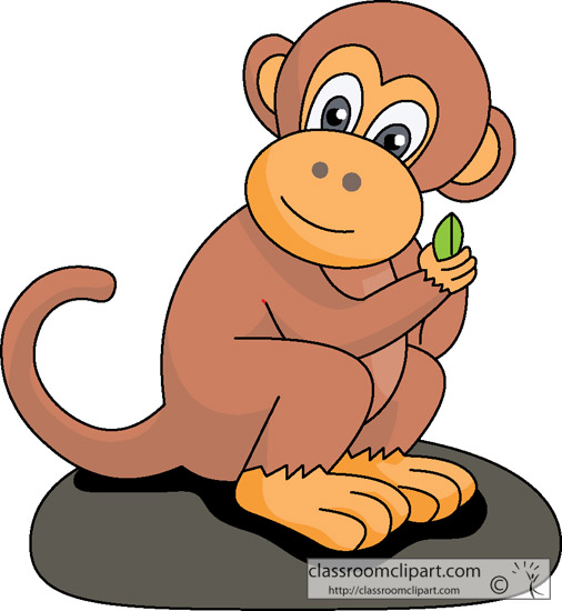 monkey clipart teacher