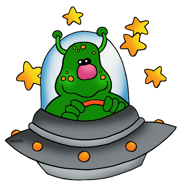 collection of space. Ufo clipart creature
