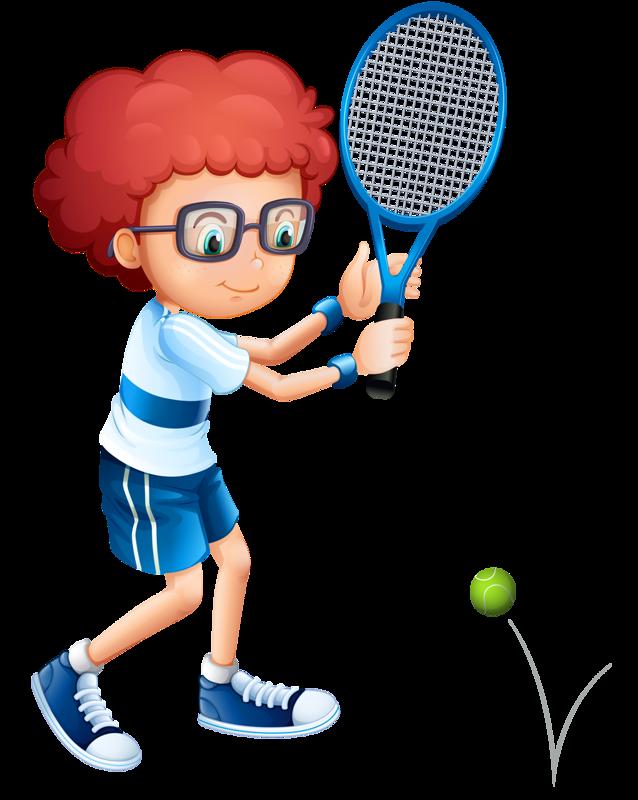 Kids clipart tennis.  esportes pinterest library