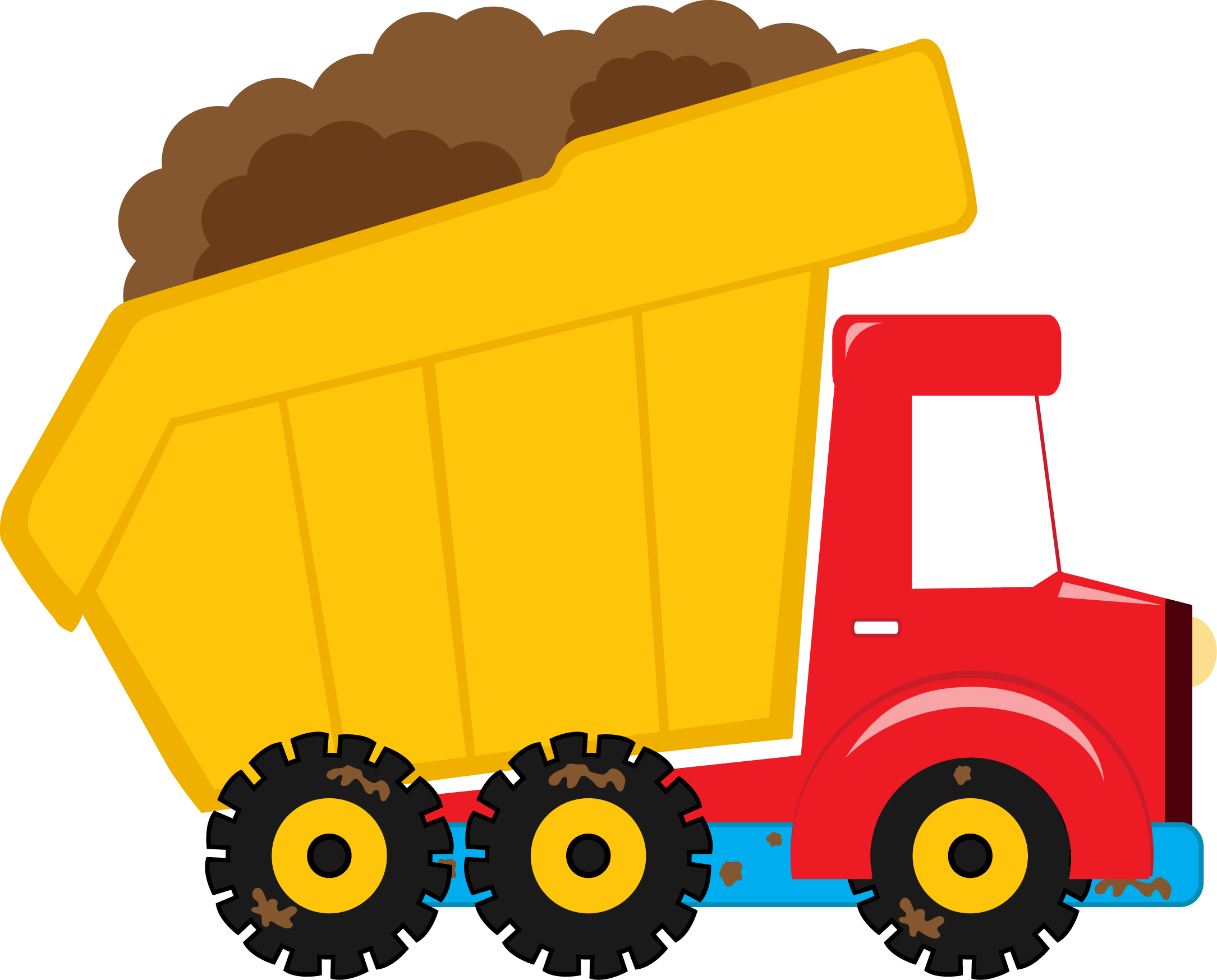 collection of construction. Kids clipart truck