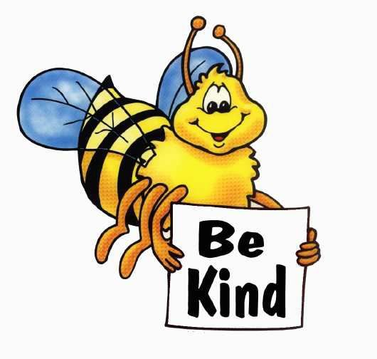 Bee clip art images. Kind clipart