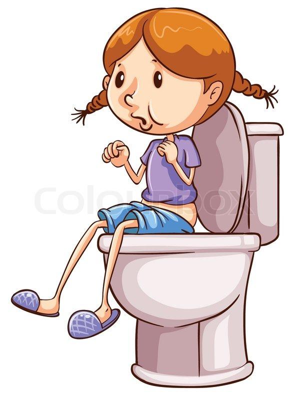 Toilette panda free images. Kind clipart