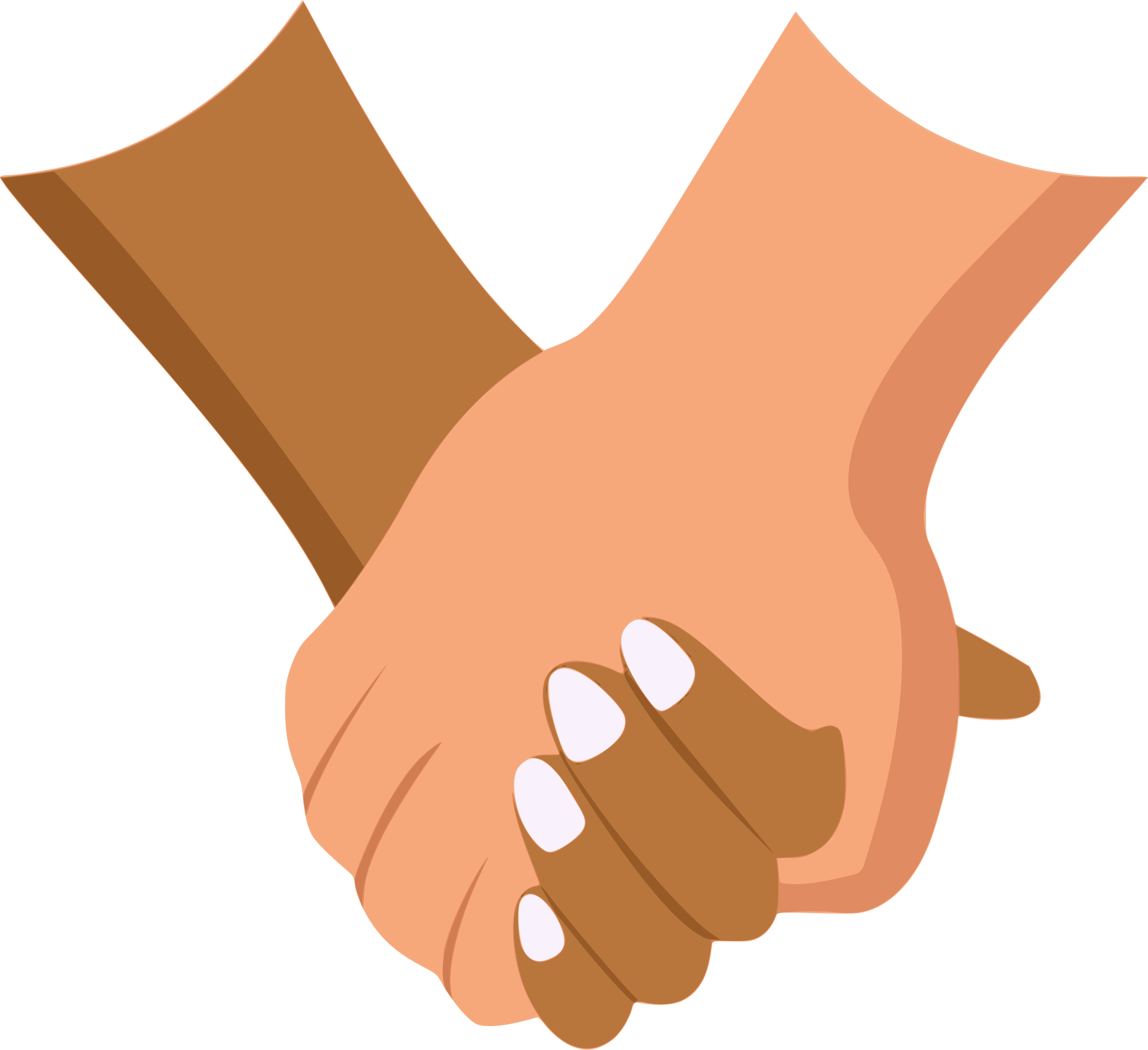 Kind clipart clasped hand. Holding hands big image