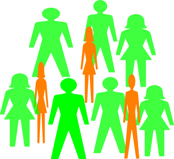 in people clip. Kind clipart group 10 person