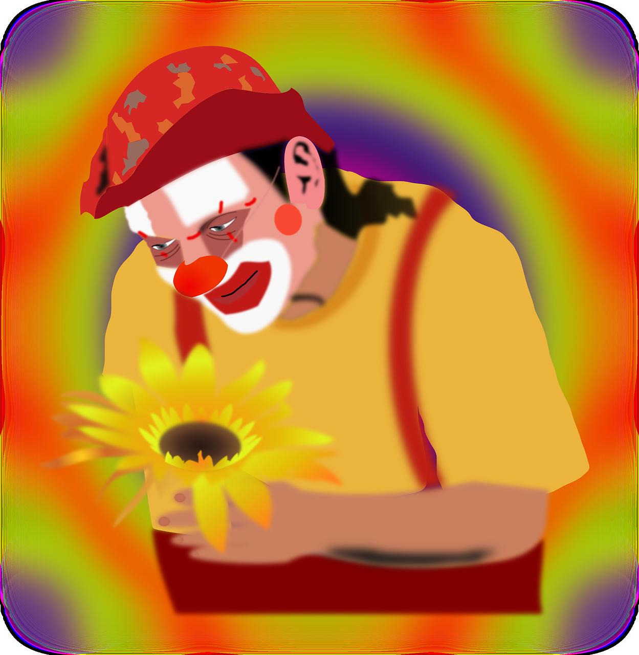 Kind clipart happy customer. Clown joker funny circus