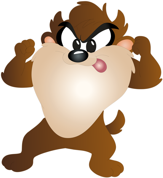 Kind clipart kids cartoon. Taz kid free png