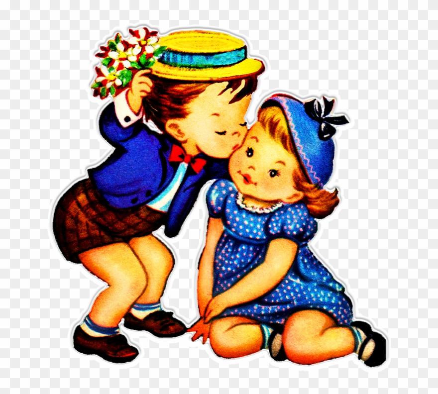 Kind clipart kind child. Kissing png download
