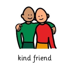 Redburn school . Kind clipart kind friend