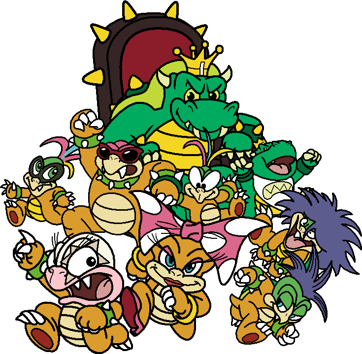 Kind clipart kind kid. At king koopa and
