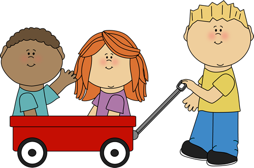 Wagon clipart different student. Kids clip art images