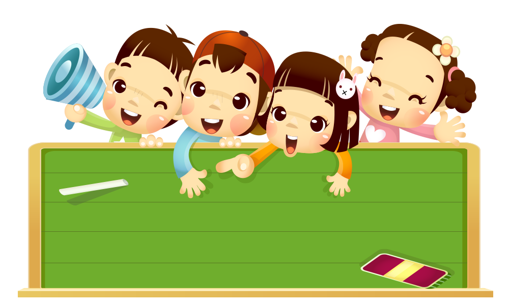 Blackboard learn cartoon child. Play clipart football team