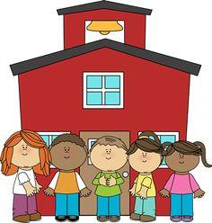 best kids clip. Preschool clipart school