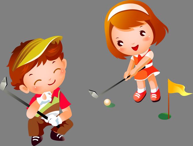 png kids sports. Kind clipart sporty kid