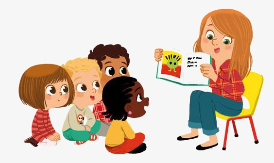 Teach children lecture png. Kindergarten clipart