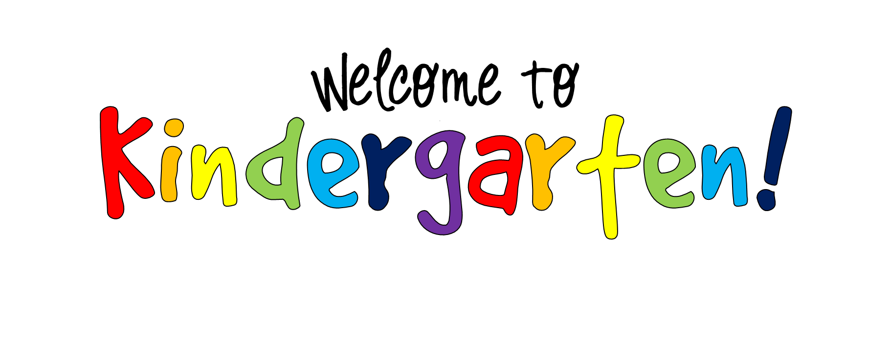 Free welcome to chesterbrook. Kindergarten clipart