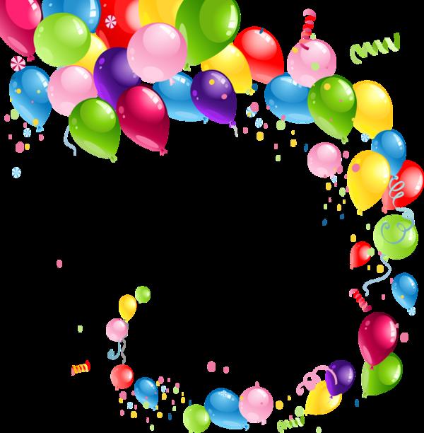 Kindergarten clipart birthday. Ballons globos balloons pinterest