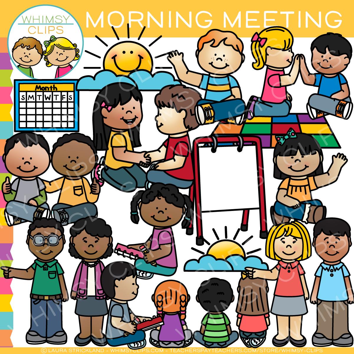 Clip art . Kindergarten clipart morning meeting
