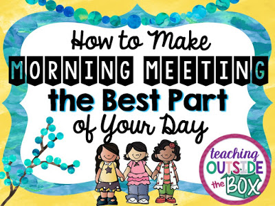 Kindergarten clipart morning meeting. How to make the
