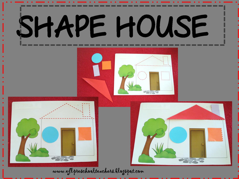 Kindergarten clipart shape. Esl efl preschool teachers