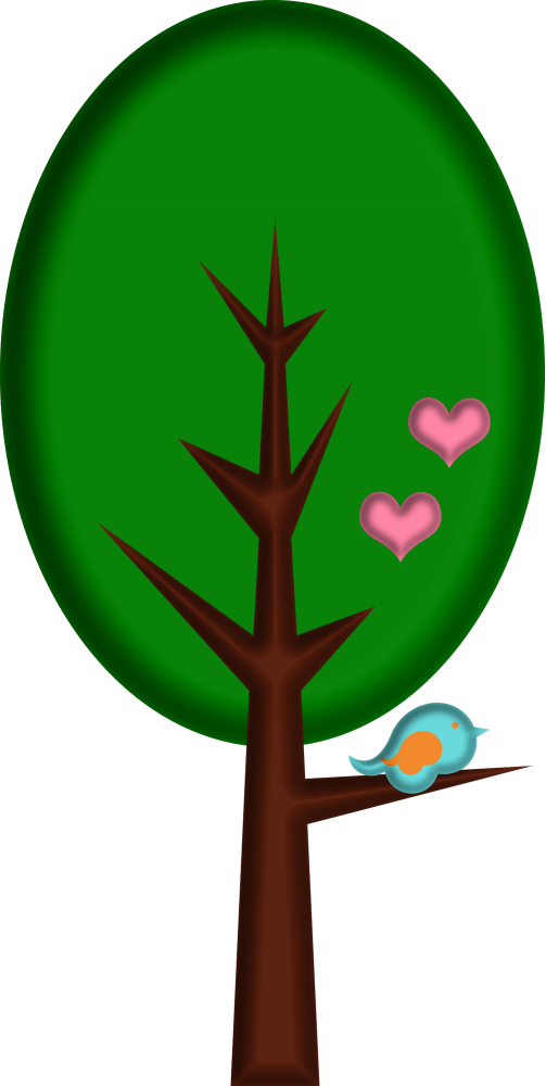 Lacarolita spring joy png. Tree clipart circle