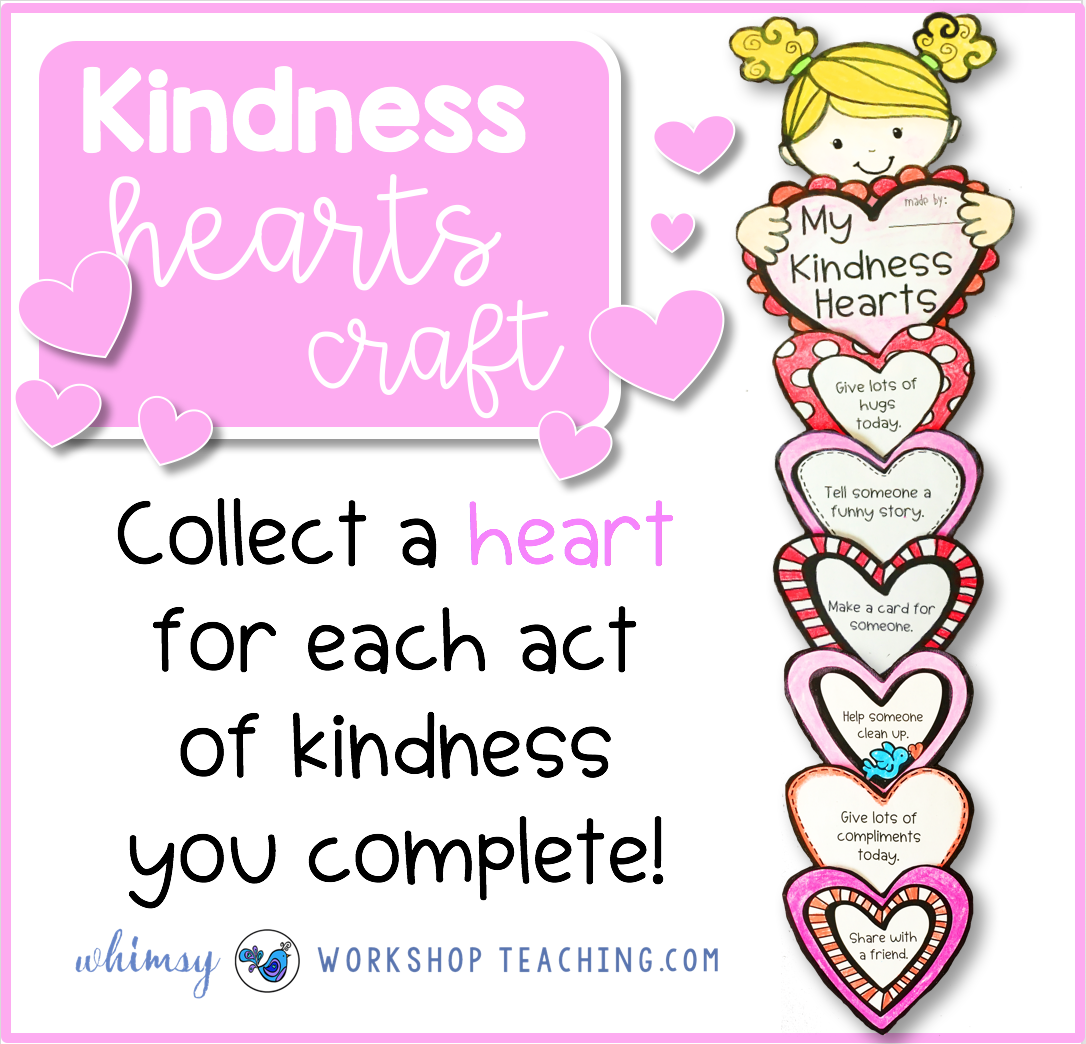 In the classroom whimsy. Kindness clipart 2 kid