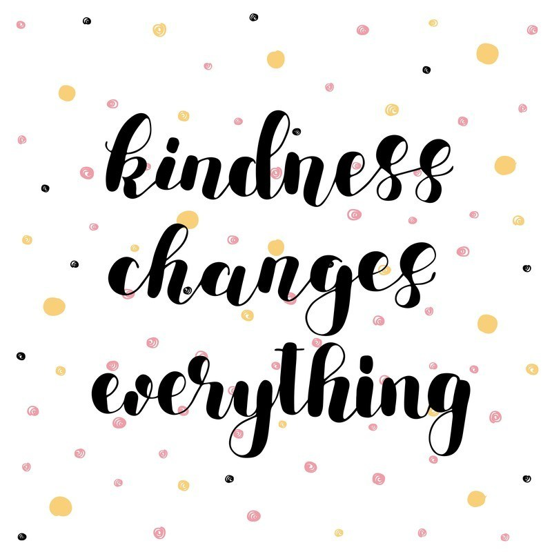 random of pink. Kindness clipart acts service