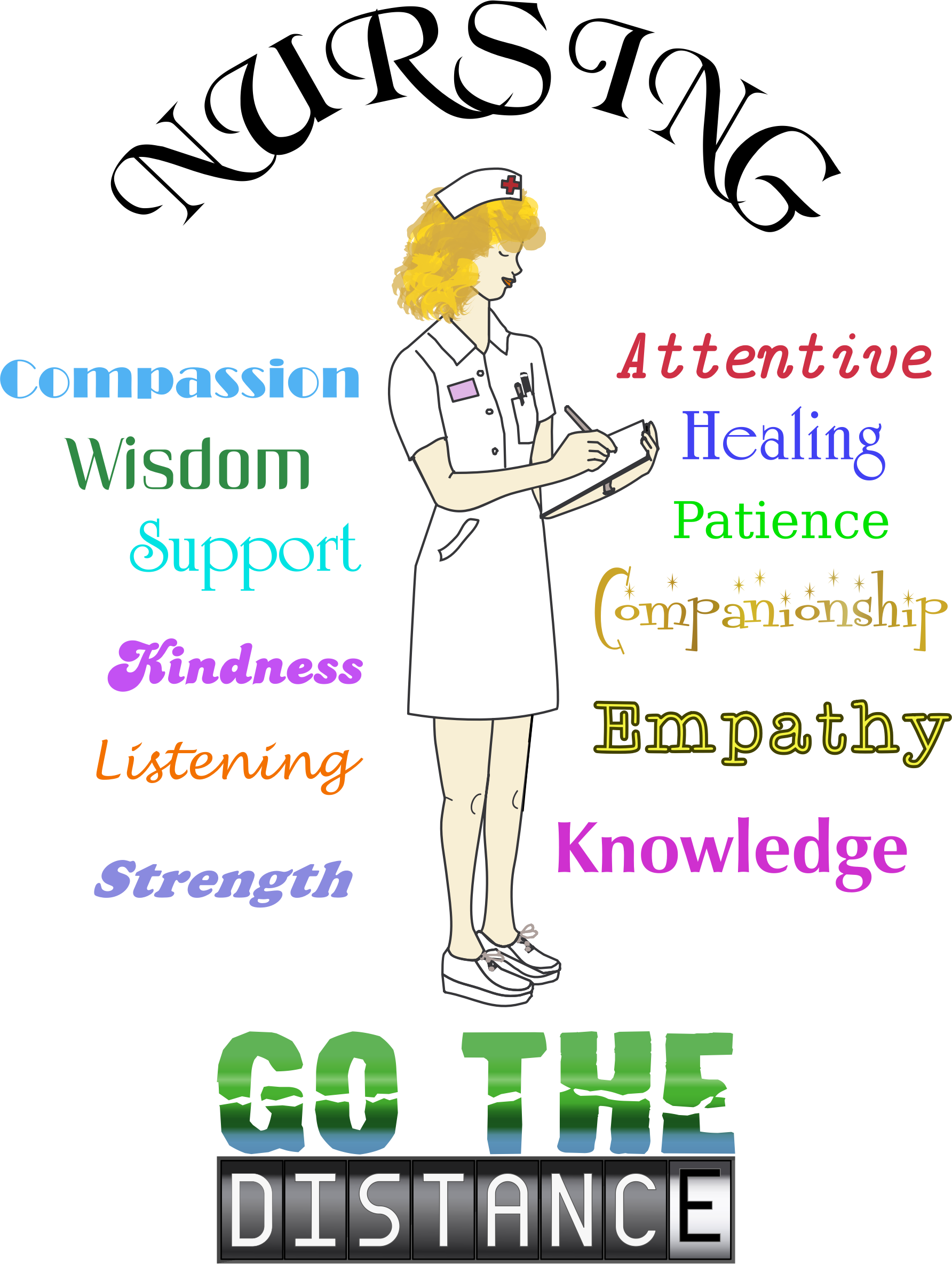 Nursing career big image. Knowledge clipart wisdom