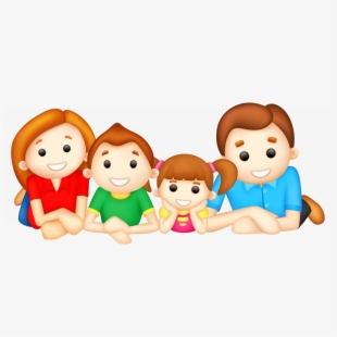 Kindness clipart family. Free cliparts silhouettes cartoons