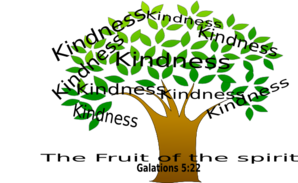 Tree clip art at. Kindness clipart fruit