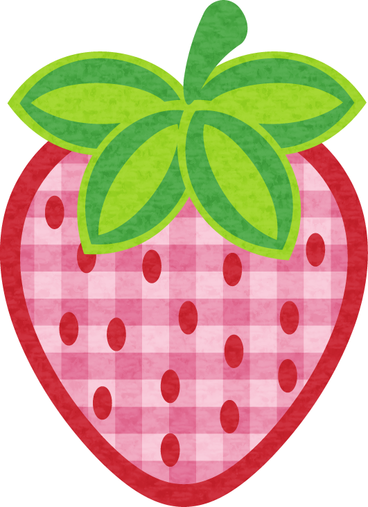 Strawberries clipart strawberry field. Mantelitos y m s