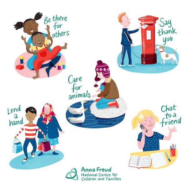 Kindness clipart health week. Children s mental