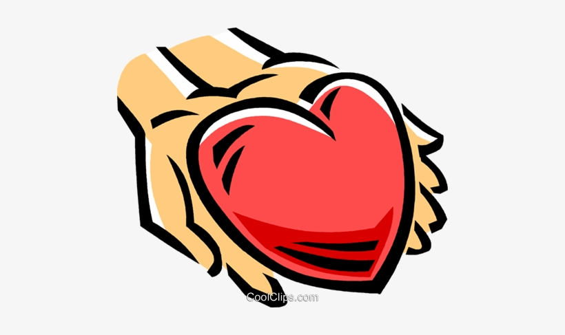Kindness clipart kindness heart. Person with a in