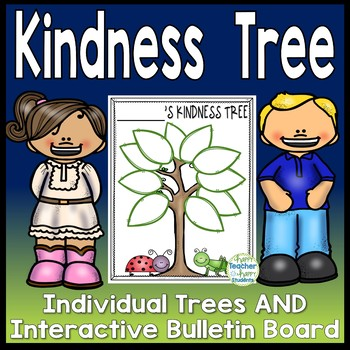 W leaves to write. Kindness clipart kindness tree