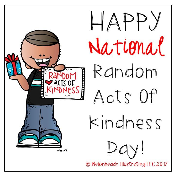 Melonheadz happy national random. Kindness clipart payday