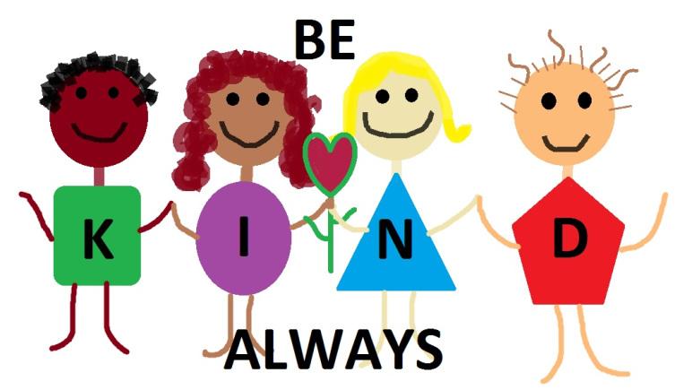 Let s be kind. Kindness clipart preschool