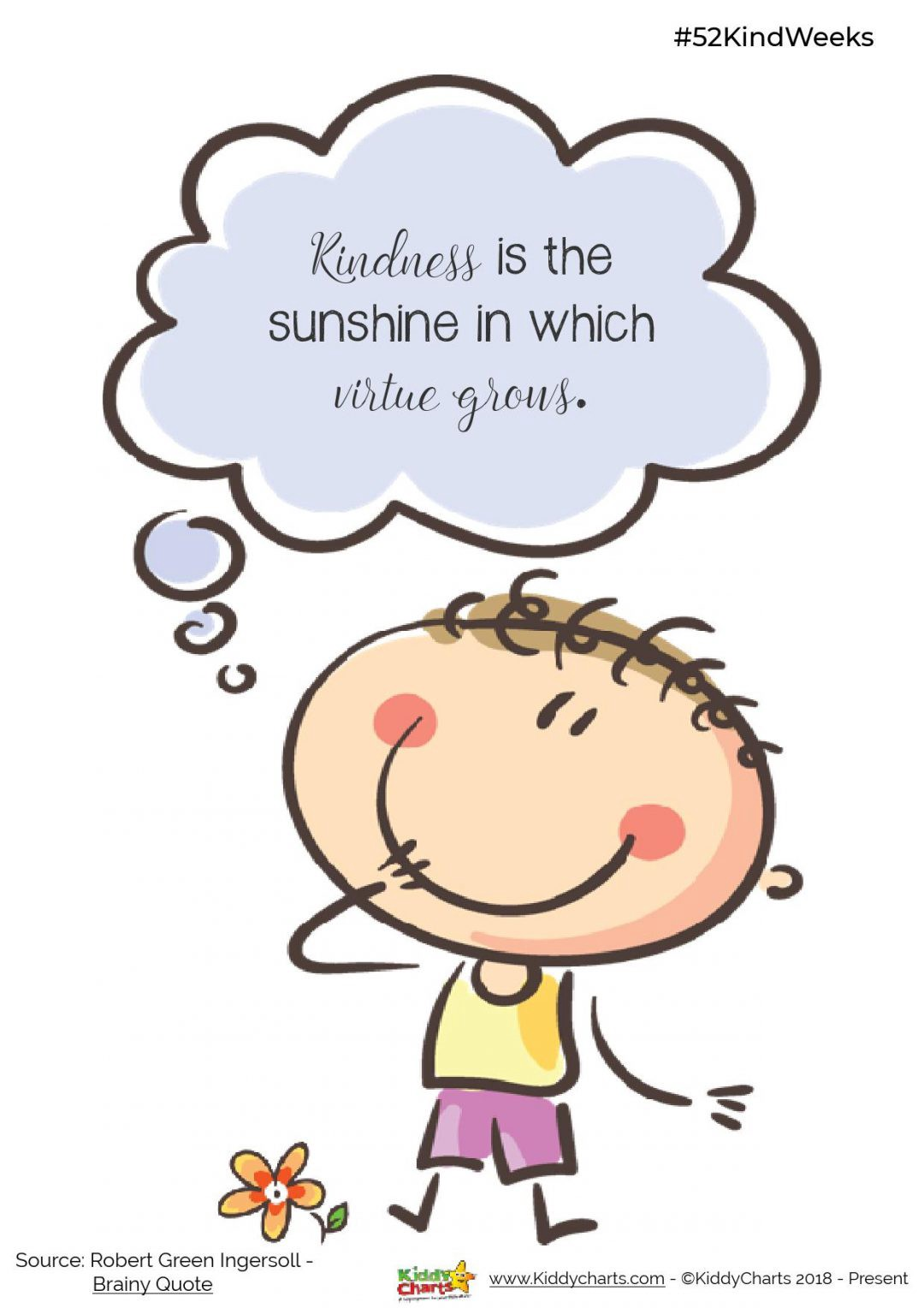 Kindness clipart smiling face. Printable posters for kids