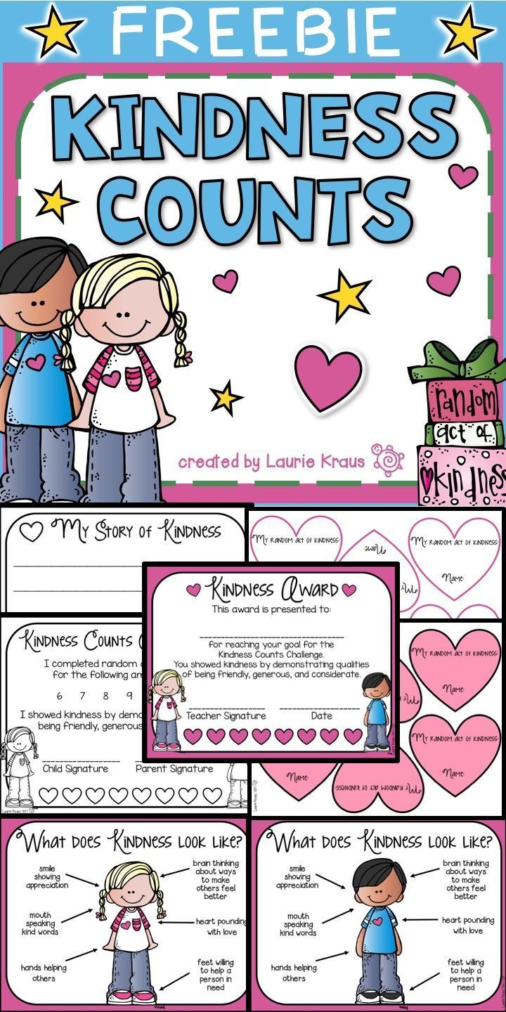 Kindness clipart social work. Freebie counts tpt free