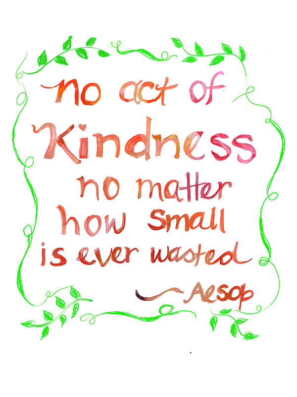 In the of inspiration. Kindness clipart spirit