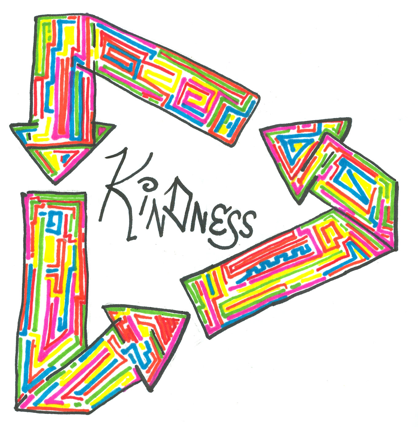 Acts of clip art. Kindness clipart year