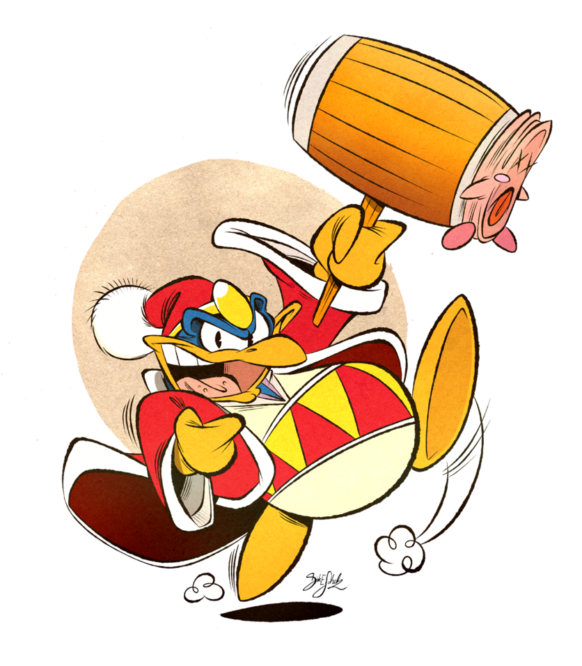 Dedede by themrock on. King clipart bad king