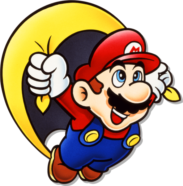 Smw mario from the. King clipart cape